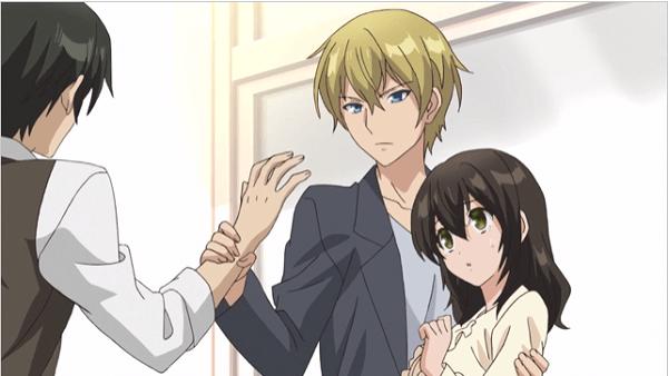アニメ スカケダの涼さんが静歌ちゃんを助けるシーン